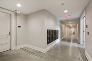 1st Floor Mailboxes